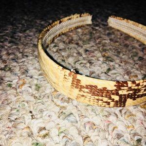 Snakeskin Headband NWOT